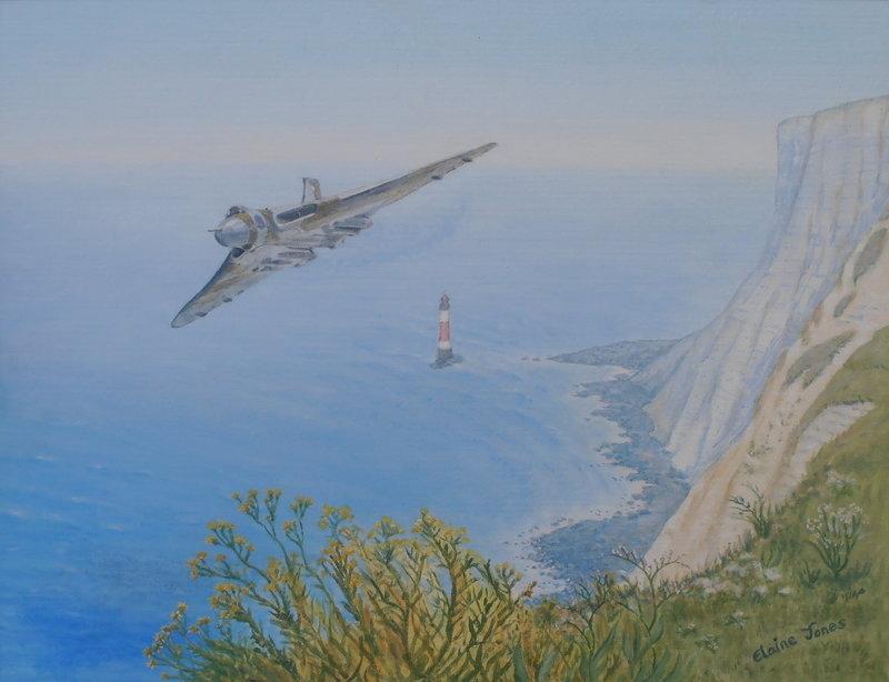 Vulcan Over Beachy Head upload