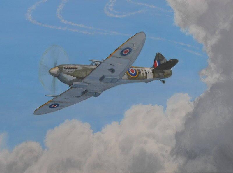 Spitfire progress 3