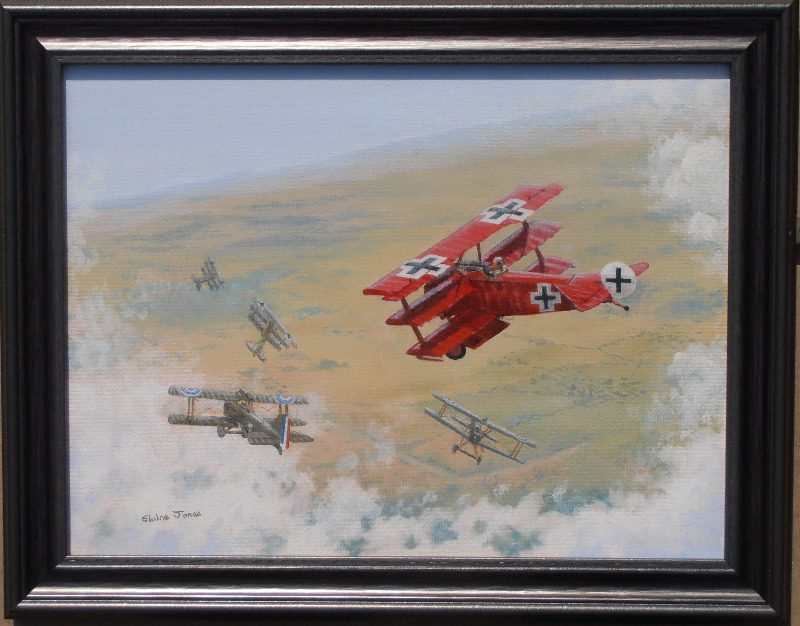 red baron framed