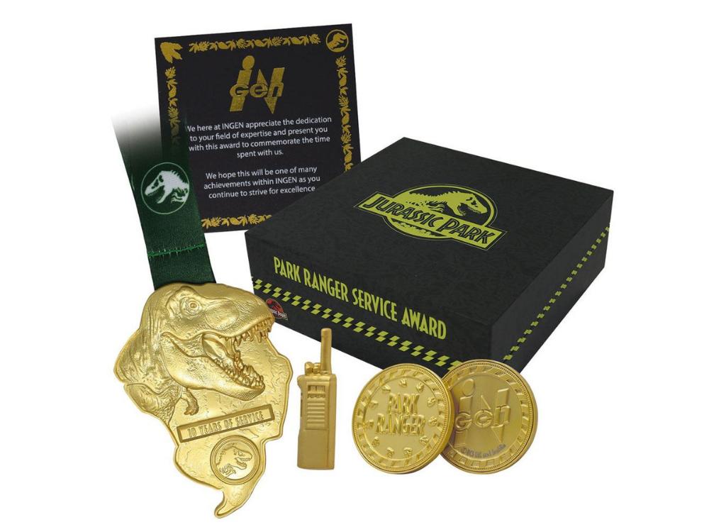 Park Ranger Service Award, Jurassic Park Replica