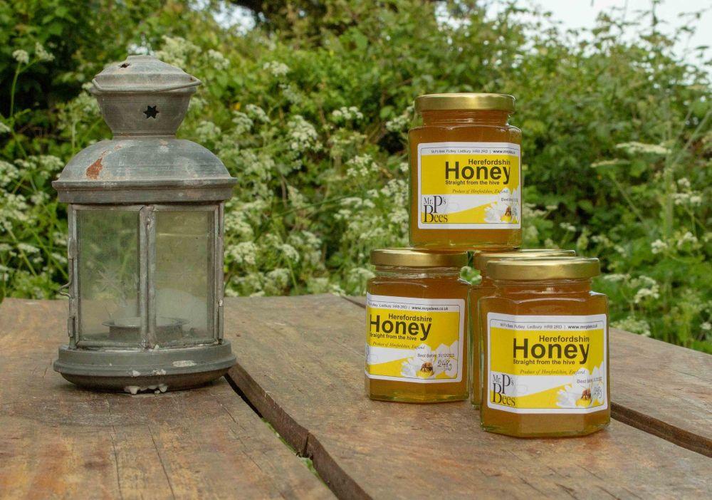 248g  jar of Herefordshire Honey