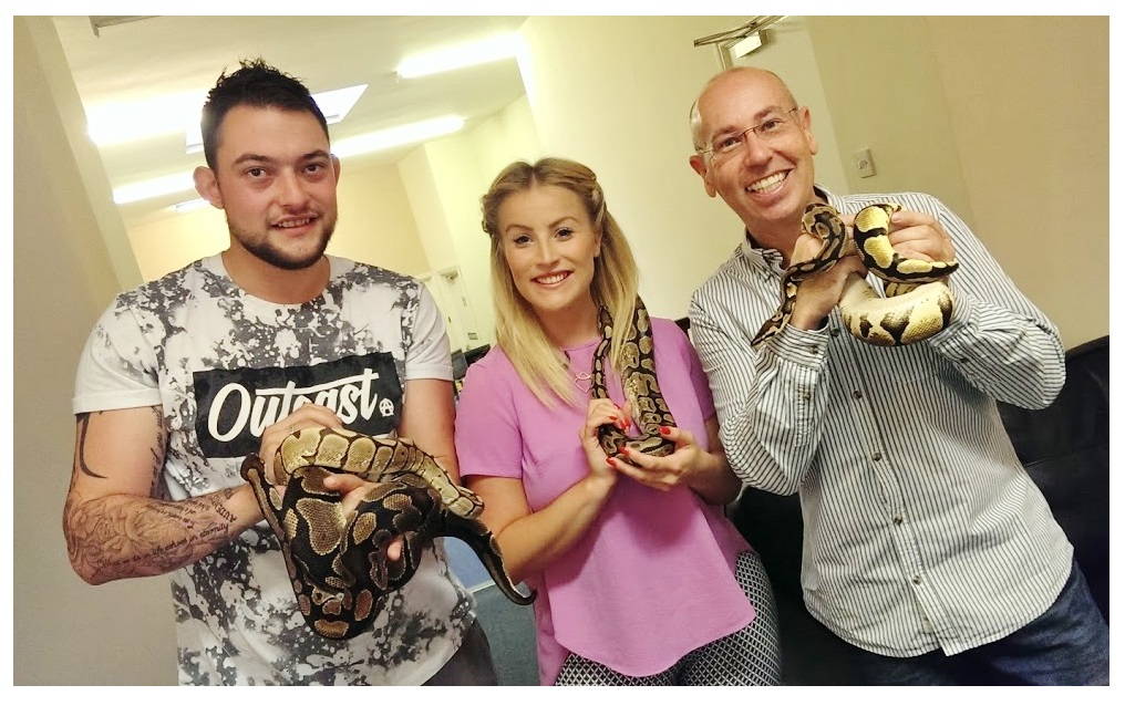 redditch standard snake phobia hypnosis snakes with beth and elliot