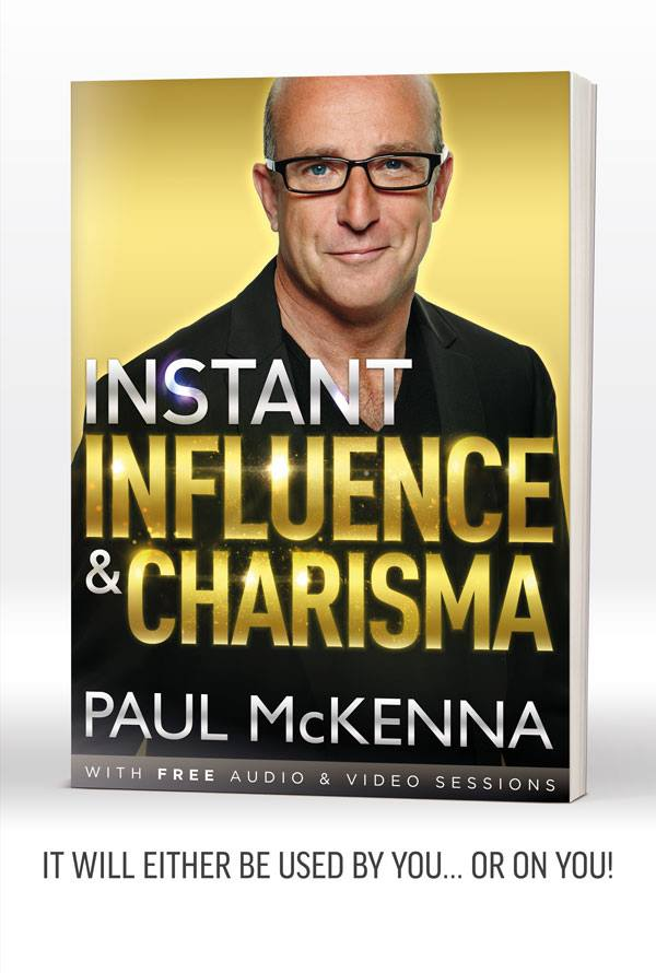 paul mckenna instant influence and charisma book