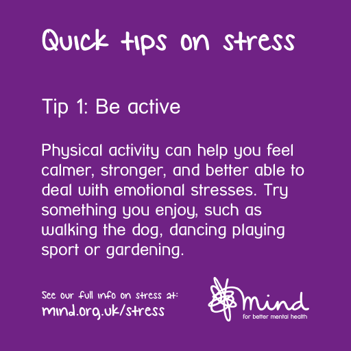 how to ger rid of stress mind charity