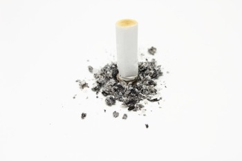 cigarette stubbed out quit smoking hypnosis