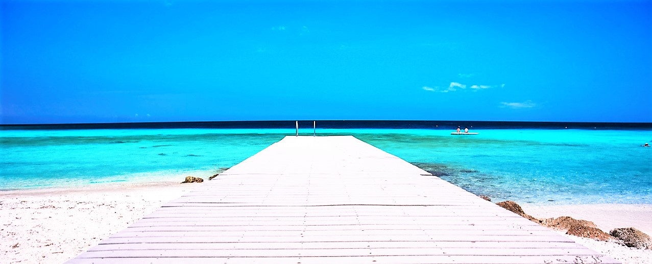pier into blue sea mindfulness
