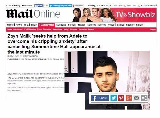 Zayn Malik Hypnosis with Paul McKenna Daily Mail