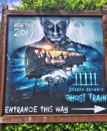 Derren Brown Ghost Train poster