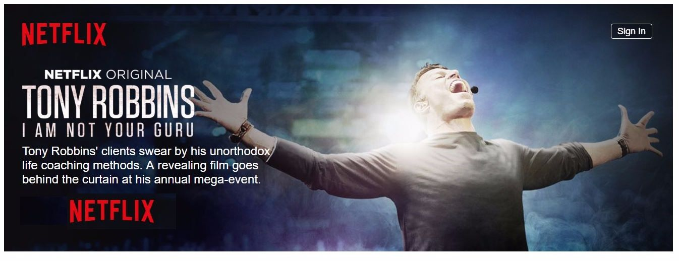 I Am Not Your Guru Tony Robbins Netflix Documentary Review