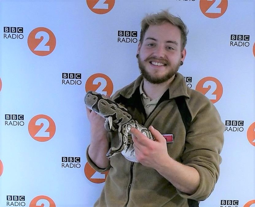 Eliza the Python on Radio 2