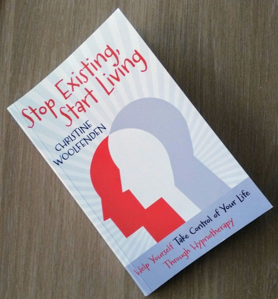 Stop Existing, Start Living Christine Woolfenden Book