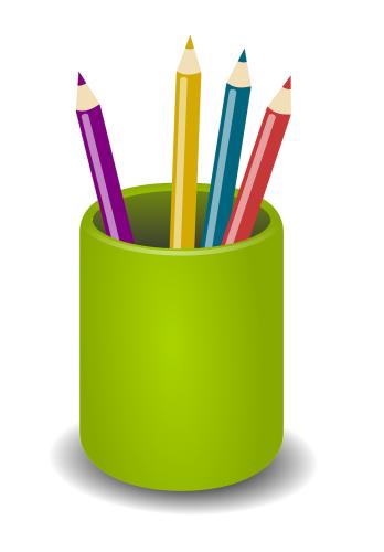 pens in a pot RF