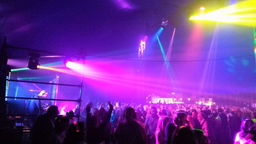 Silent Disco Rewind Festival