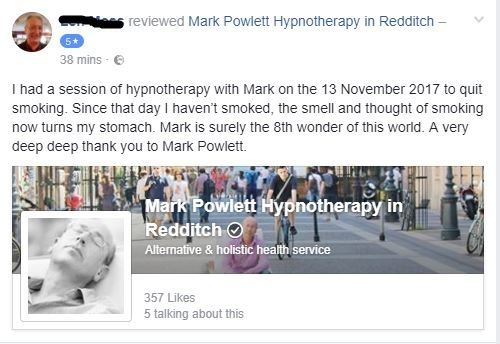 review len moss quit smoking hypnosis