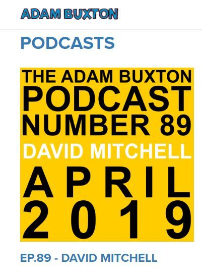 Adam Buxton Podcast with David Mitchell