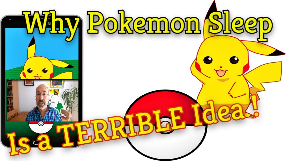 pokemon sleep app- with me