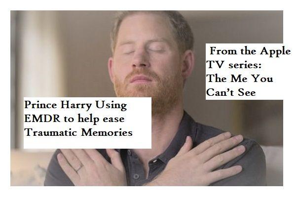 Prince Harry uses EMDR for Trauma in Oprah Winfrey TV show