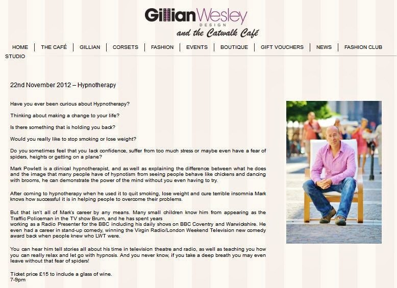 gillian wesley talk