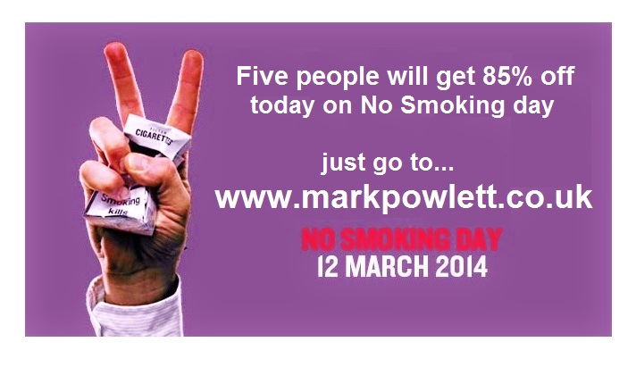 no smoking day hypnotherapy image