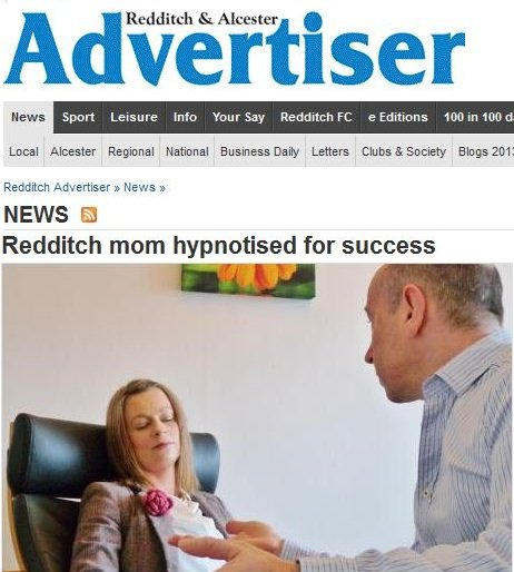 redditch mom victoria warwick jones hypnotised for success