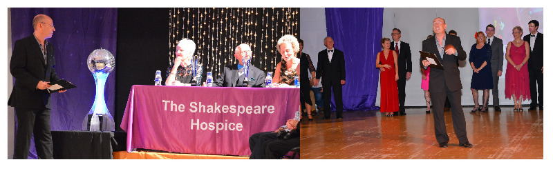 Shakespeare Hospice strictly come dancing presenting