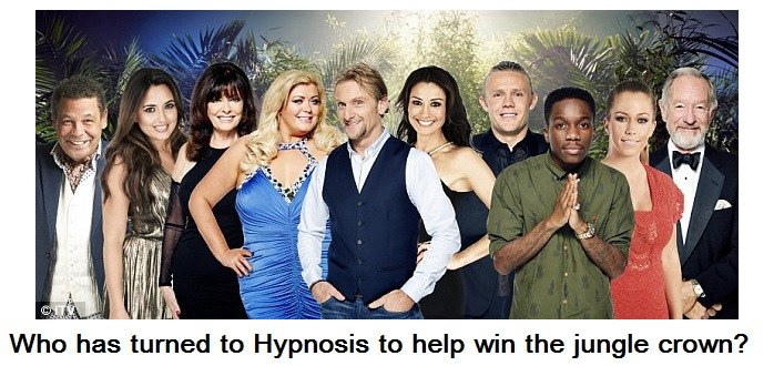 im a celebrity 2014 stars use hypnosis to help the win