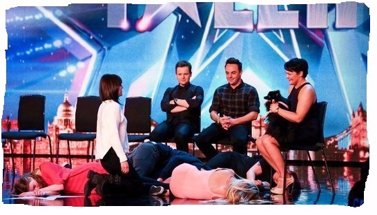 hypnodog britains got talent hypnosis act