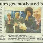 press cutting0001 stratford school talk about hypnotheray and motivation