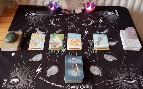 4 Card Tarot Reading - Past, Present & Future ~ YOUTUBE Reading