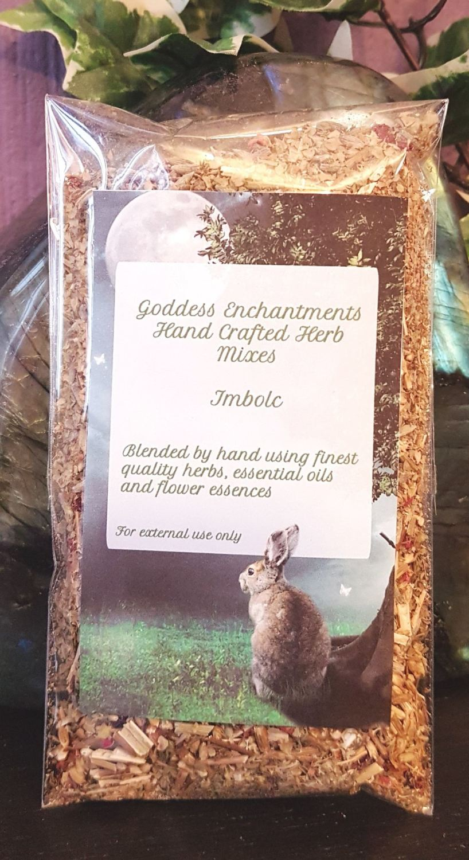 Hand Blended Imbolc Magickal Herb Mix