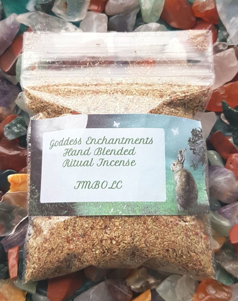 Hand Blended Imbolc Magickal Grain Incense