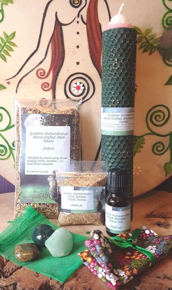 Imbolc Full Spell & Altar Kit with Full Ritual