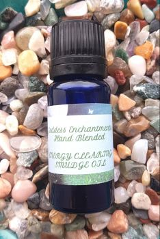 Hand Blended SMUDGE/ENERGY CLEARING Oil