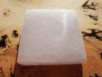 Selenite Charging Plate - Crystal Grid Base