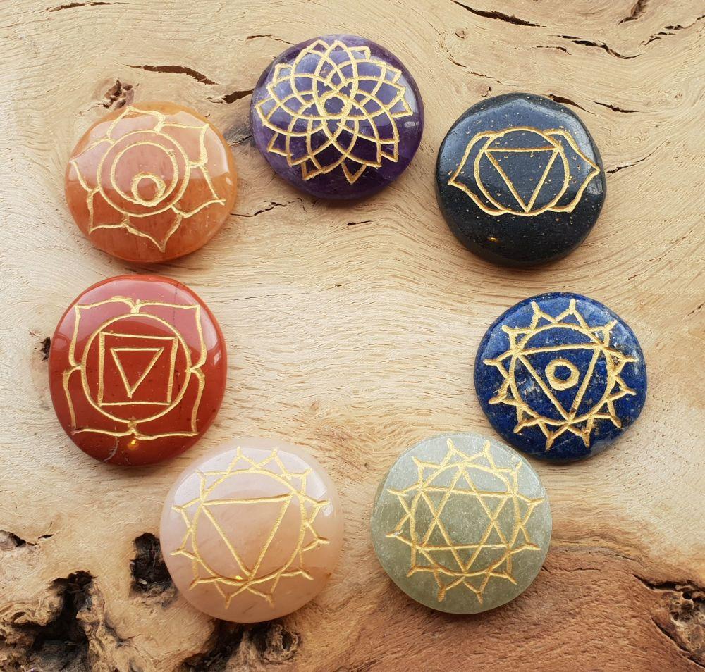 Chakra Balancing and Healing Disc Set