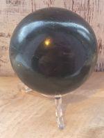 Large Black Tourmaline Sphere