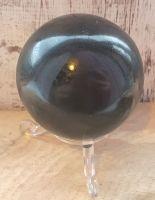 Medium Black Tourmaline Sphere
