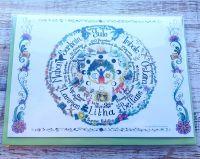 The Wheel Greeting Card - Art Card