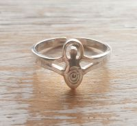 Goddess Sterling Silver Toe/Pinky Ring