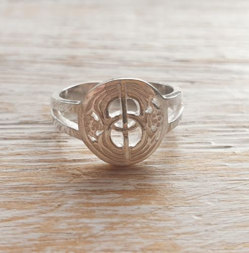 Chalice Well Sterling Silver Toe/Pinky Ring