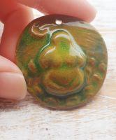 Gaia Healing Earth Mother Goddess Pendant