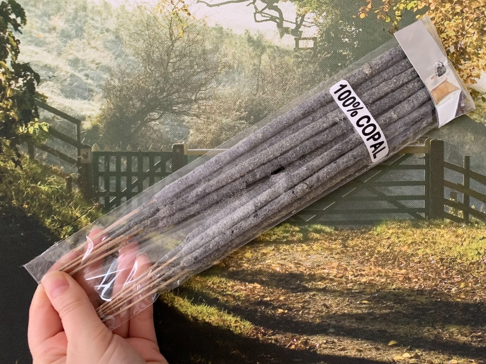 Hand Rolled 100% Copal Resin Incense Sticks