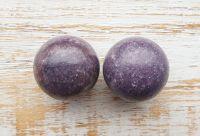 Lepidolite Spheres (Pair)