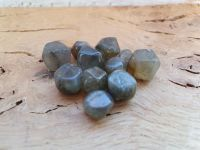 Mini Labradorite Facets - Set of 4