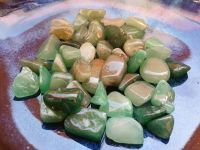 Aventurine Chipstones for Water Bottle Refills Or General Use