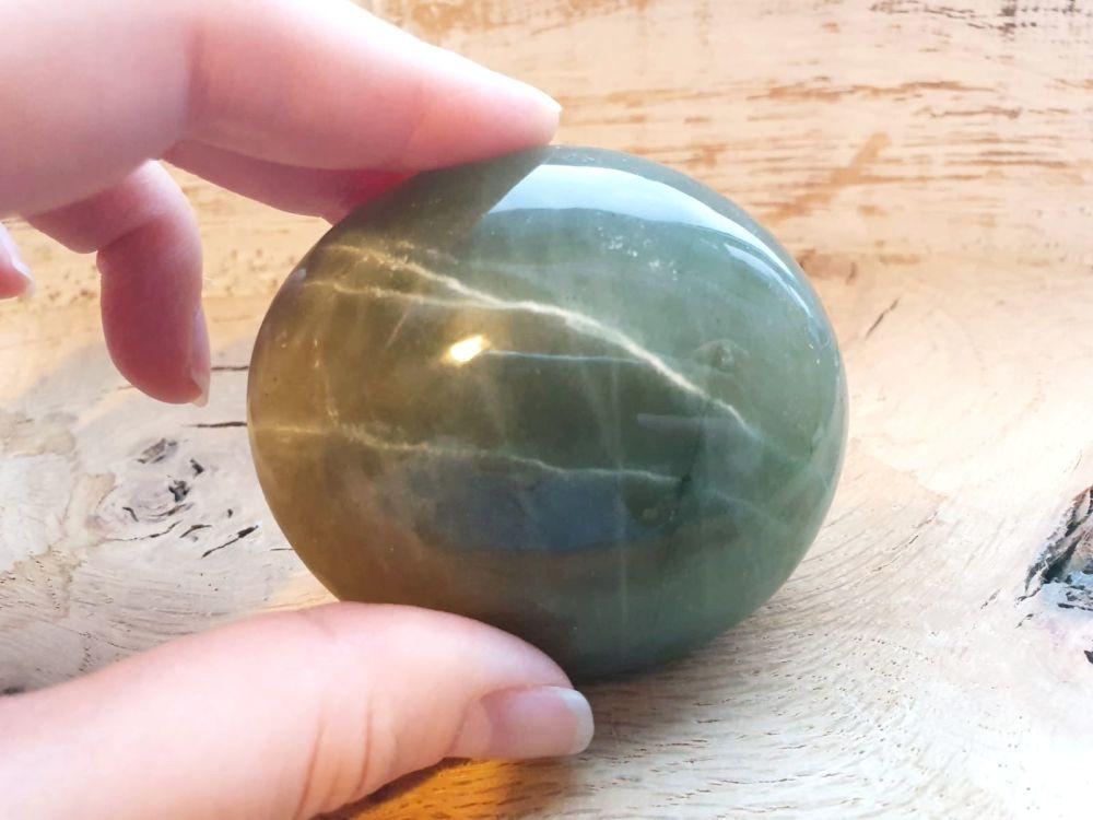 Green Moonstone Galet (1)