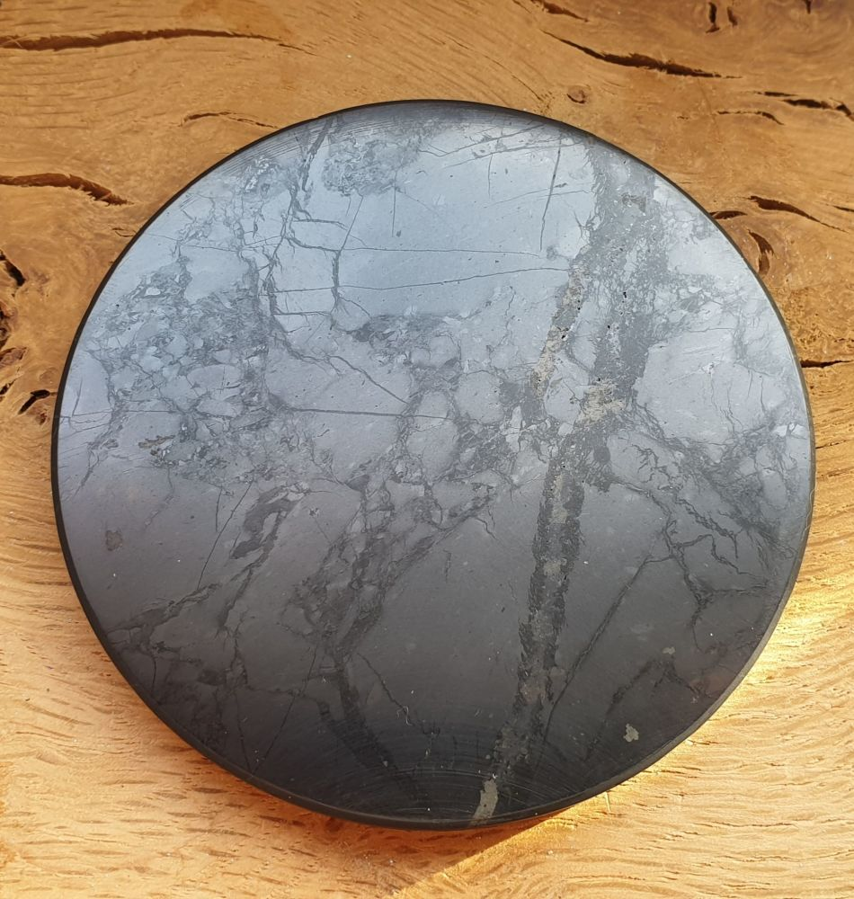 Shungite Large Disc/Coaster