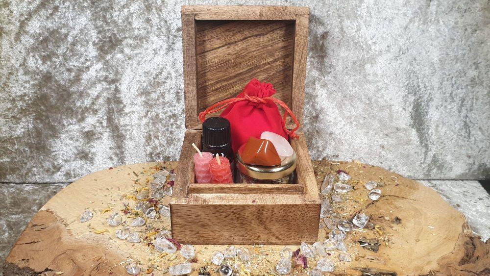 Custom Intention Setting Box ~ Spell/Ritual Kit Custom Made ~ Fertility, Lo