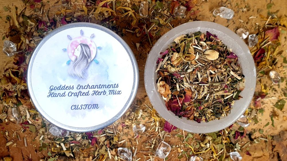 Hand Blended CUSTOM Herb Mixes ~ You Choose ~