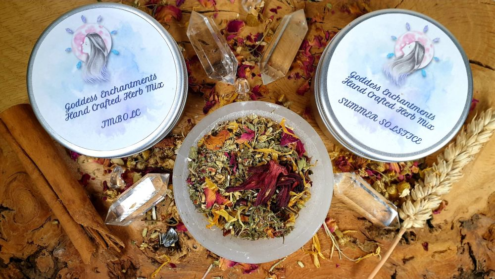 Hand Blended SABBAT Herb Mixes ~ You Choose ~